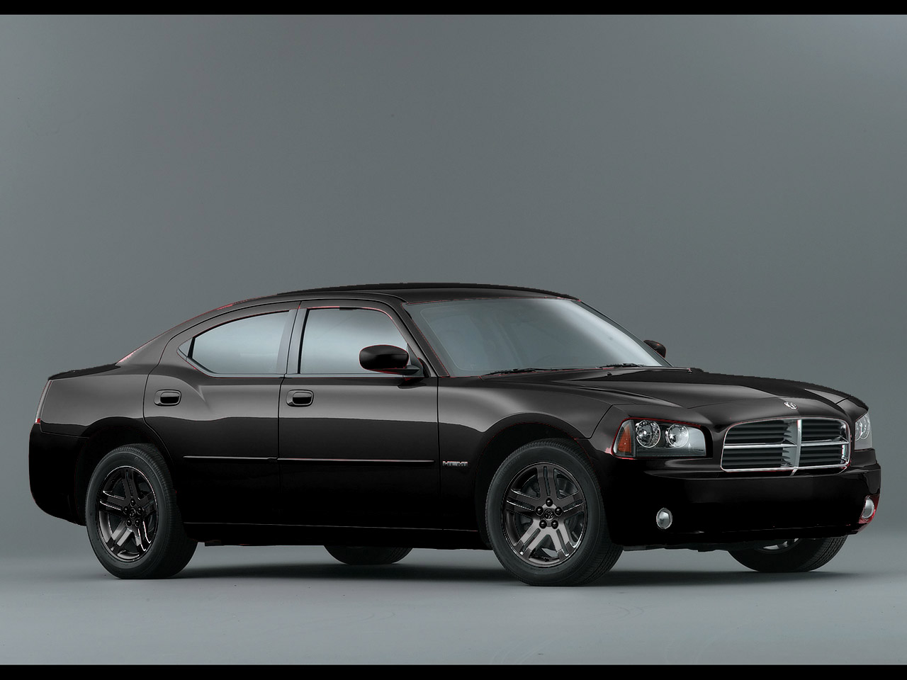 2006 Dodge Charger RT sa black
